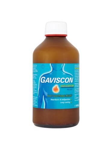 Gaviscon Peppermint Liquid Relief 600ml