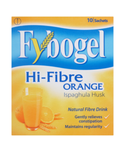 Fybogel Hi-Fibre Orange Natural Fibre Drink 10 Sachets