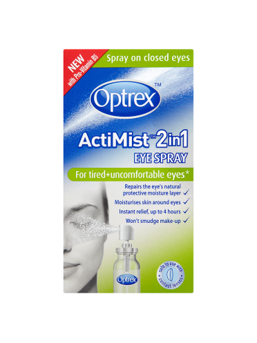 Optrex ActiMist 2in1 Eye Spray for Tired + Uncomfortable Eyes 10ml
