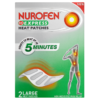 Nurofen Express Heat Patches 2 Large Heat Patches