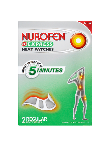 Nurofen Express Heat Patches 2 Regular Heat Patches