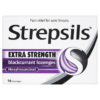 Strepsils Extra Strength Blackcurrant Lozenges 16 Lozenges