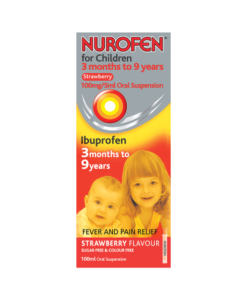 Nurofen for Children 3 Months to 9 Years Strawberry 100ml