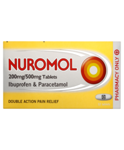 Nuromol 200mg/500mg Tablets 12 Tablets