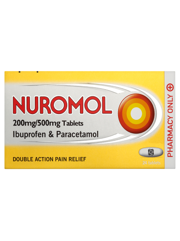 Nuromol 200mg/500mg Tablets 24 Tablets
