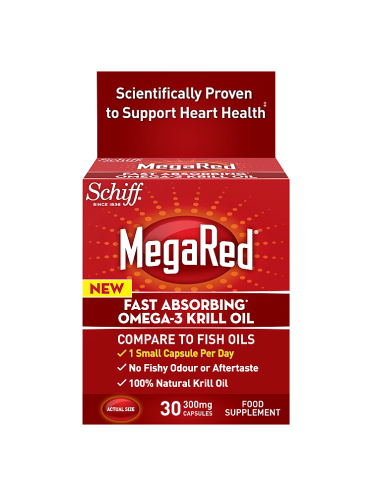 MegaRed Fast Absorbing Omega-3 300mg Krill Oil 30 Capsules