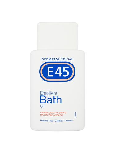 E45 Dermatological Emollient Bath Oil 250ml