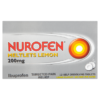 Nurofen Meltlets Lemon 200mg 12 Self-Dissolving Tablets
