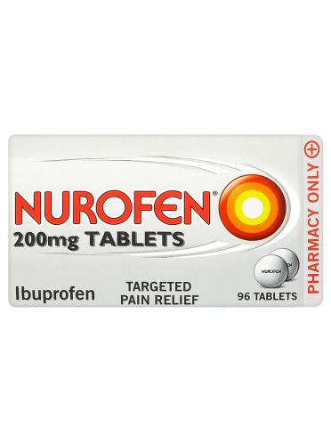 Nurofen 200mg Tablets 96 Tablets