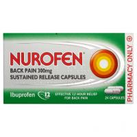 Nurofen Back Pain 300mg 24 Capsules