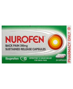 Nurofen Back Pain 300mg 24 Capsules