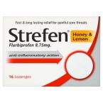 Strefen Honey & Lemon 16 Lozenges