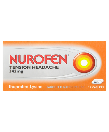 Nurofen Tension Headache 342mg 12 Caplets