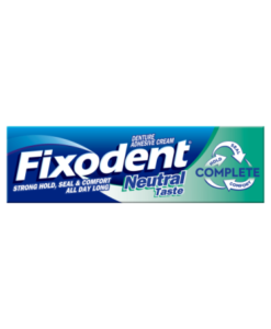 Fixodent Complete Neutral Denture Adhesive 47g
