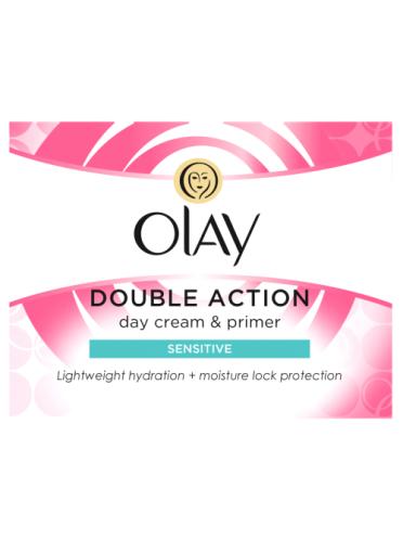 Olay Double Action Moisturiser Day Cream & Primer sensitive 50ml