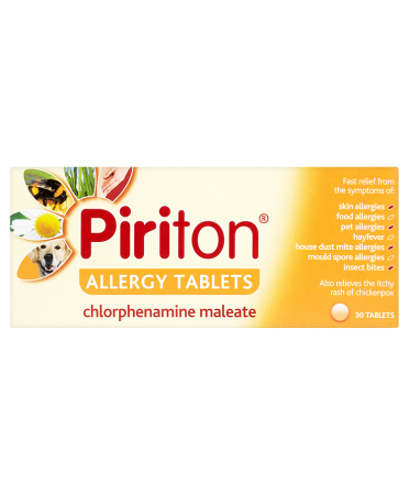 Piriton Allergy Tablets 30 Tablets
