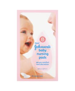 Johnson's Baby Nursing Pads 30 Contour Pads