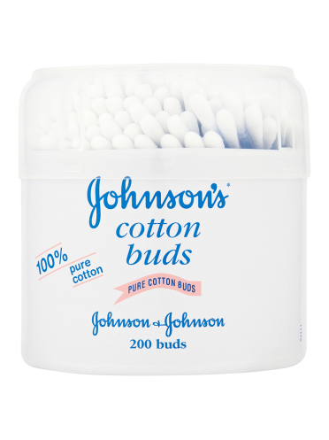 Johnson's Pure Cotton Buds 200 Buds