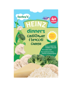 Heinz Dinners Cauliflower & Broccoli Cheese 4+ Months 125g
