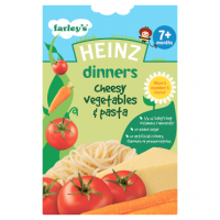 Heinz Dinners Cheesy Vegetables & Pasta 7+ Months 100g