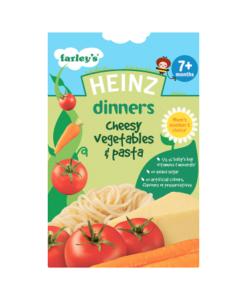 Heinz Dinners Cheesy Vegetables & Pasta 7+ Months 100g