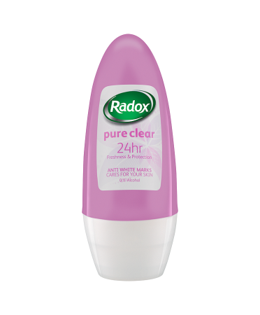 Radox Pure Clear Roll-On Anti-Perspirant Deodorant 50ml