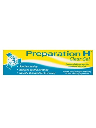 Preparation H Clear Gel 25g
