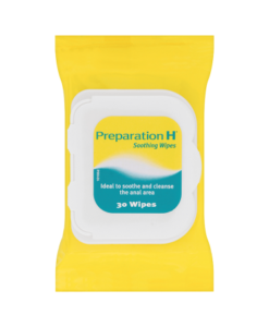 Preparation H 30 Soothing Wipes