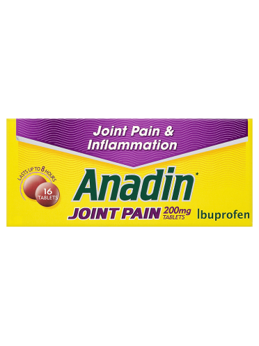 Anadin Joint Pain 200mg Tablets 16 Tablets