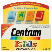 Centrum Kids Chewables 30 Fruity Flavoured Tablets