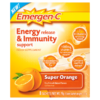 Emergen-C Energy Release & Immunity Support Food Supplement Super Orange 8 Sachets 79g