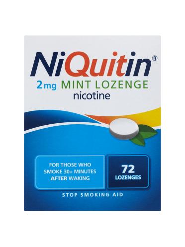 NiQuitin 2mg Mint Lozenge 72 Lozenges