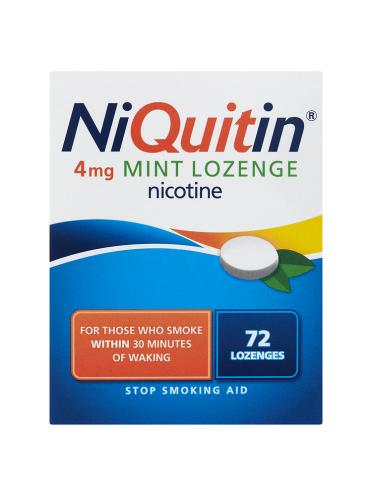 NiQuitin 4mg Mint Lozenge 72 Lozenges