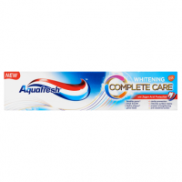 Aquafresh Complete Care Whitening Fluoride Toothpaste 100ml