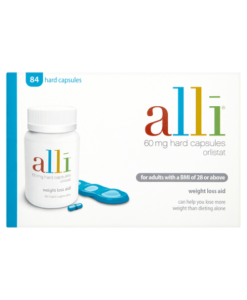 Alli 60mg 84 Hard Capsules