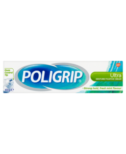 Poligrip Ultra Denture Fixative Cream 40g