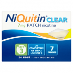 NiQuitin Clear 7mg Patch Nicotine Step 3 7 Patches