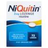 NiQuitin 2mg Lozenge 72 Lozenges
