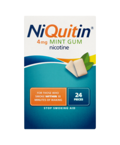 NiQuitin 4mg Mint Gum 24 Pieces