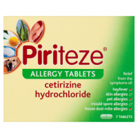 Piriteze Allergy Tablets 7 Tablets