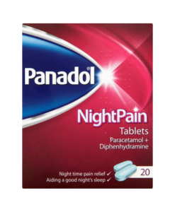 Panadol NightPain Tablets 20 Tablets