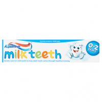 Aquafresh Milk Teeth Fluoride Toothpaste 0-2 Years 50ml
