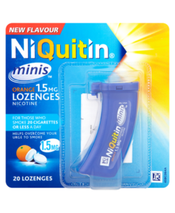 NiQuitin Minis Orange 1.5mg Lozenges 20 Lozenges
