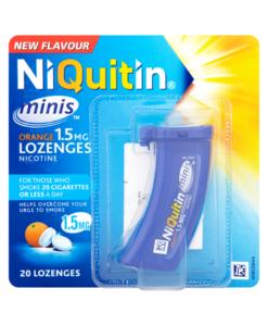 NiQuitin Minis Orange 1.5mg Lozenges 20 Lozenges