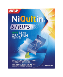 NiQuitin Strips Mint 2.5mg Oral Film 15 Oral Films