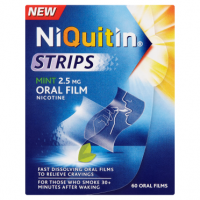 NiQuitin Strips Mint 2.5mg Oral Film 60 Oral Films