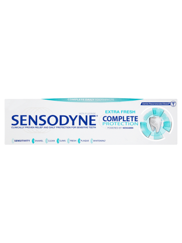 Sensodyne Extra Fresh Complete Protection Complete Daily Toothpaste 75ml