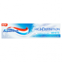 Aquafresh High Definition White Illuminating Mint Fluoride Toothpaste 75ml