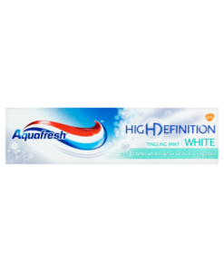 Aquafresh High Definition White Tingling Mint Fluoride Toothpaste 75ml