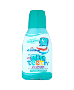 Aquafresh My Big Teeth Mouthwash Child-Friendly Fresh Mint Flavour 6+ Years 300ml
